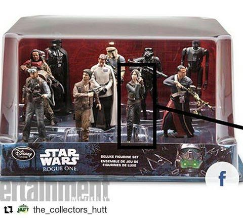 Repost thecollectorshutt with repostapp  rogueone figurine set by disneyhellip