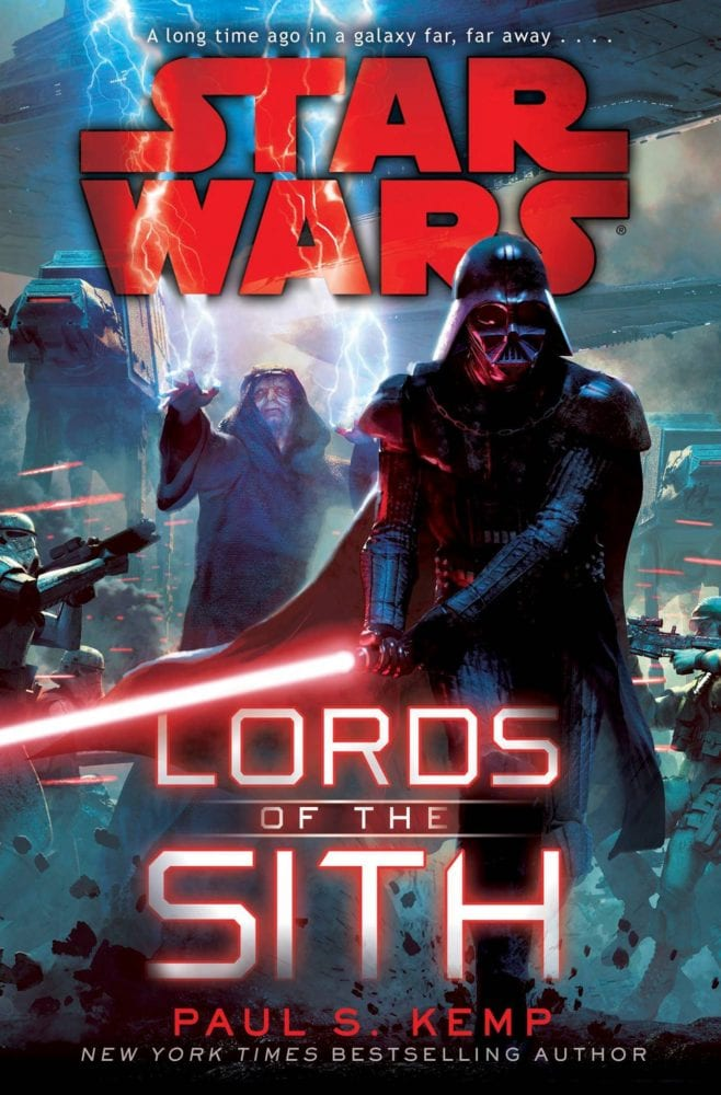 Star Wars Lords of the Sith cover