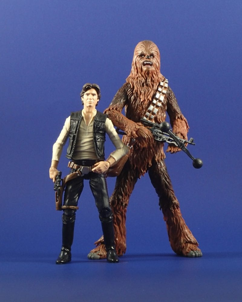 Black Series Han Solo and Chewbacca