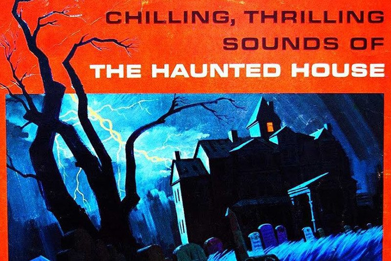 """Enjoy this story from Mac about the retro-Halloween goodness of Disney's """"Chilling, Thrilling Sounds of The Haunted House"""""""