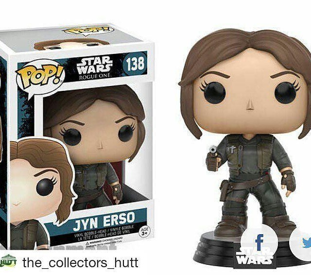 Repost thecollectorshutt with repostapp  rogueone jynerso funkopop image releasedhellip