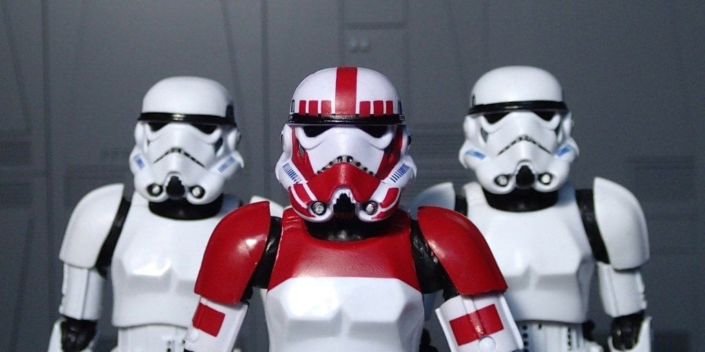 Photographic Plastic, Imperial Shock Trooper