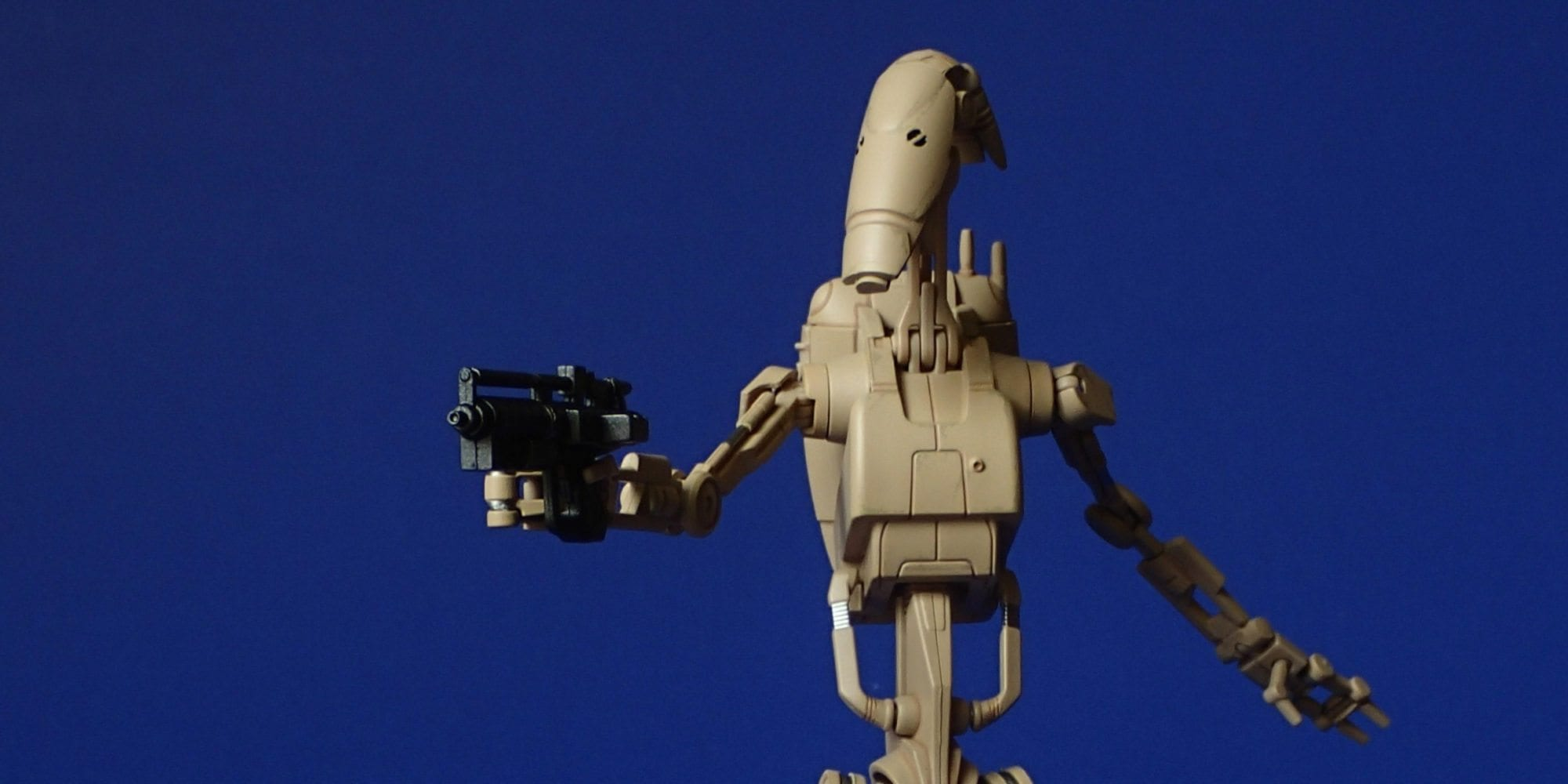 Photographic Plastic: SH Figuarts Battle Droid