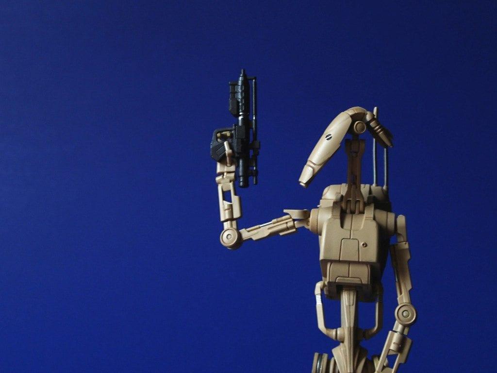 SH Figuarts battle droid