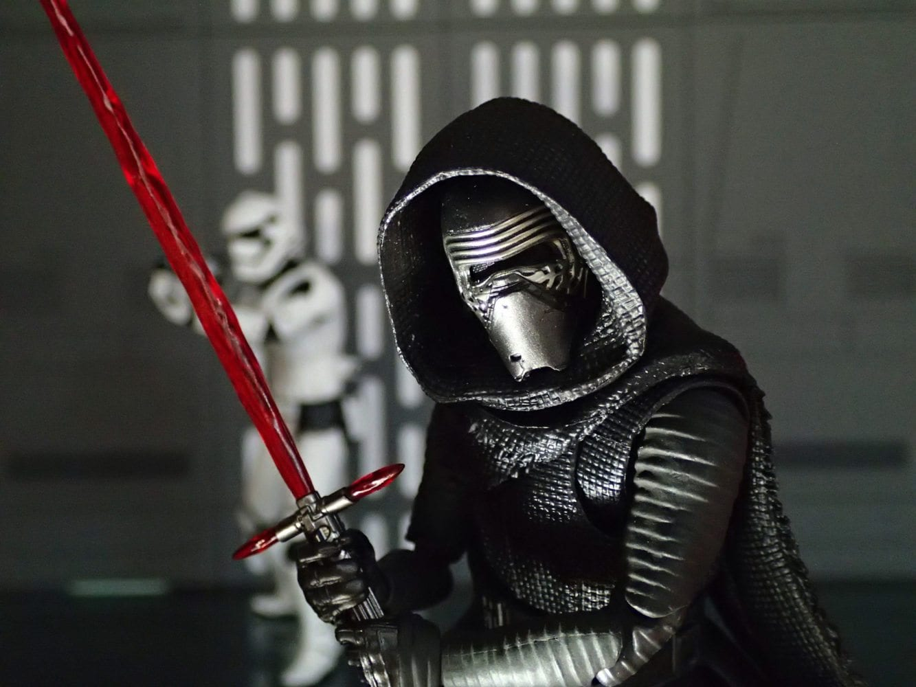 Photographic Plastic, Kylo Ren, action figure photography