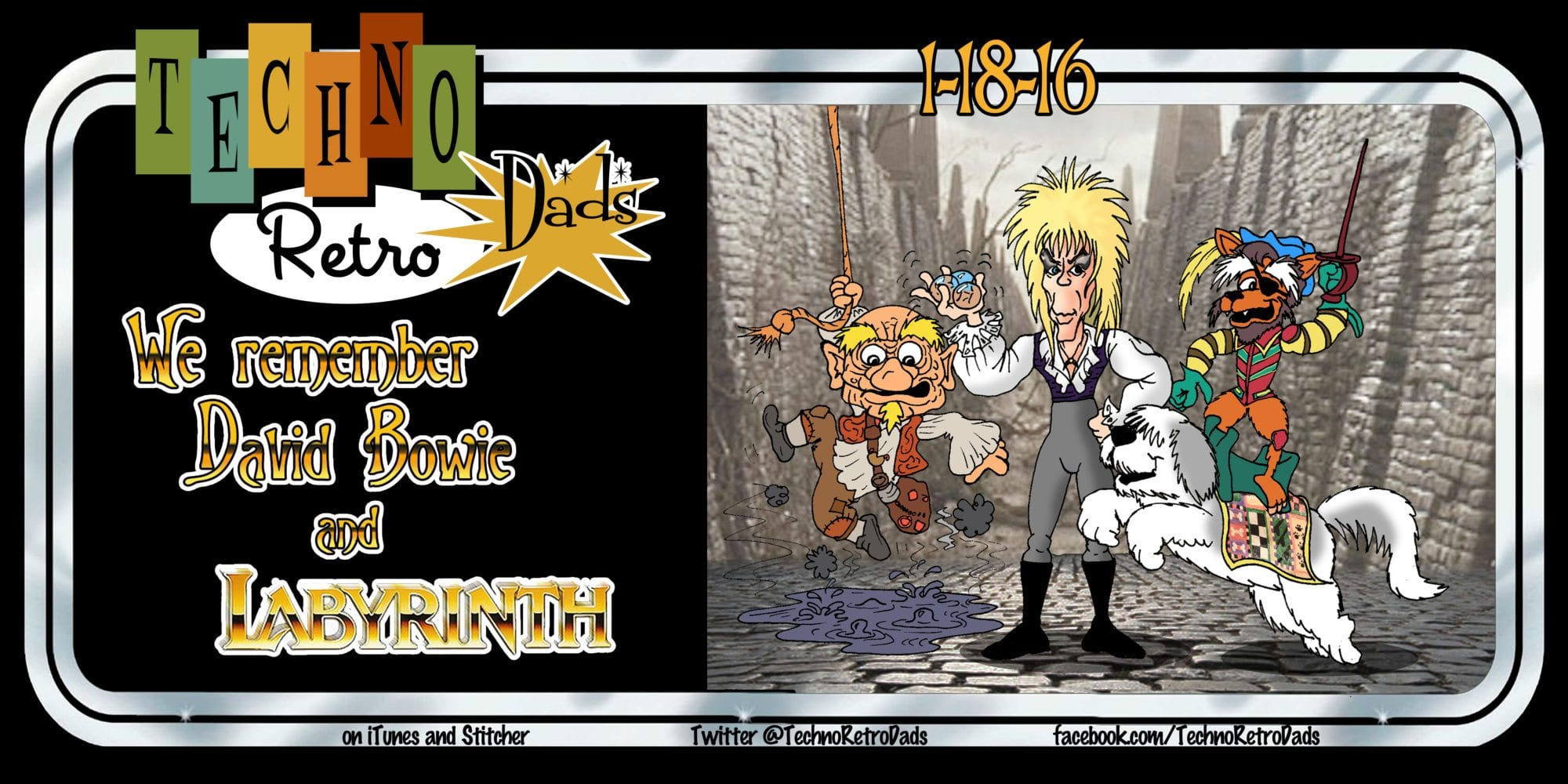 labyrinth, TechnoRetro Dads