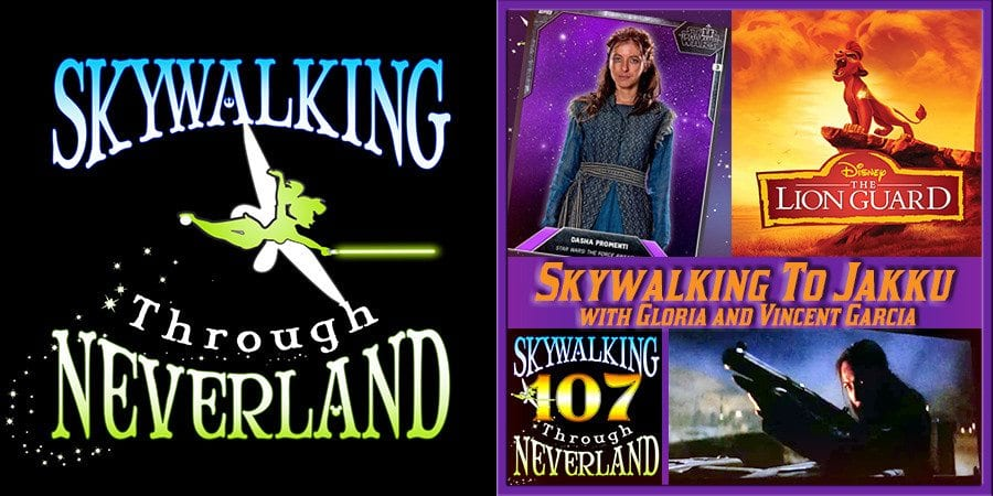 Skywalking Through Neverland 107