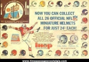 Gumball machine football helmets of the '70s and '80s for a quarter or less!