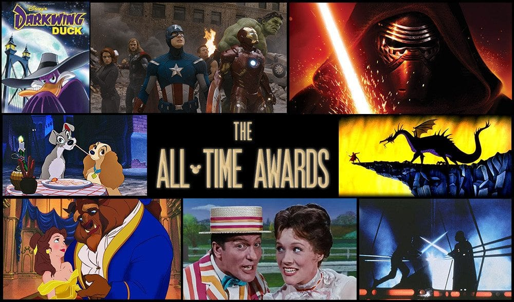All Time Awards, Star Wars saga
