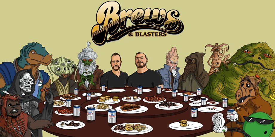 Brews and Blasters podcast Star Wars Party, Star Wars podcast