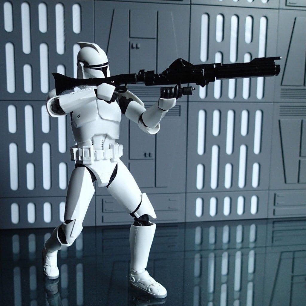 SH Figuarts Star Wars Attack of the Clones Clone Trooper