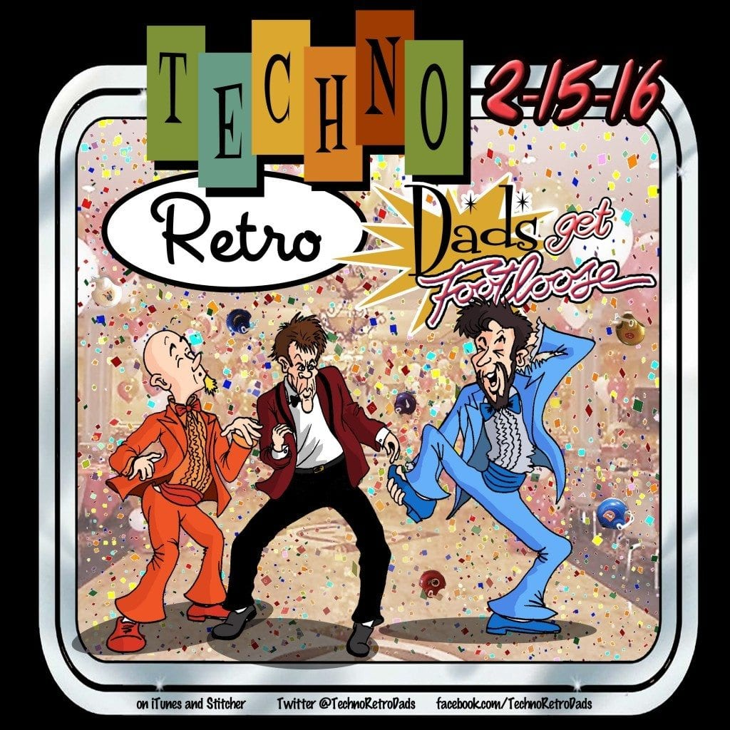 Techno Retro Dads Get Footloose with Kevin Bacon