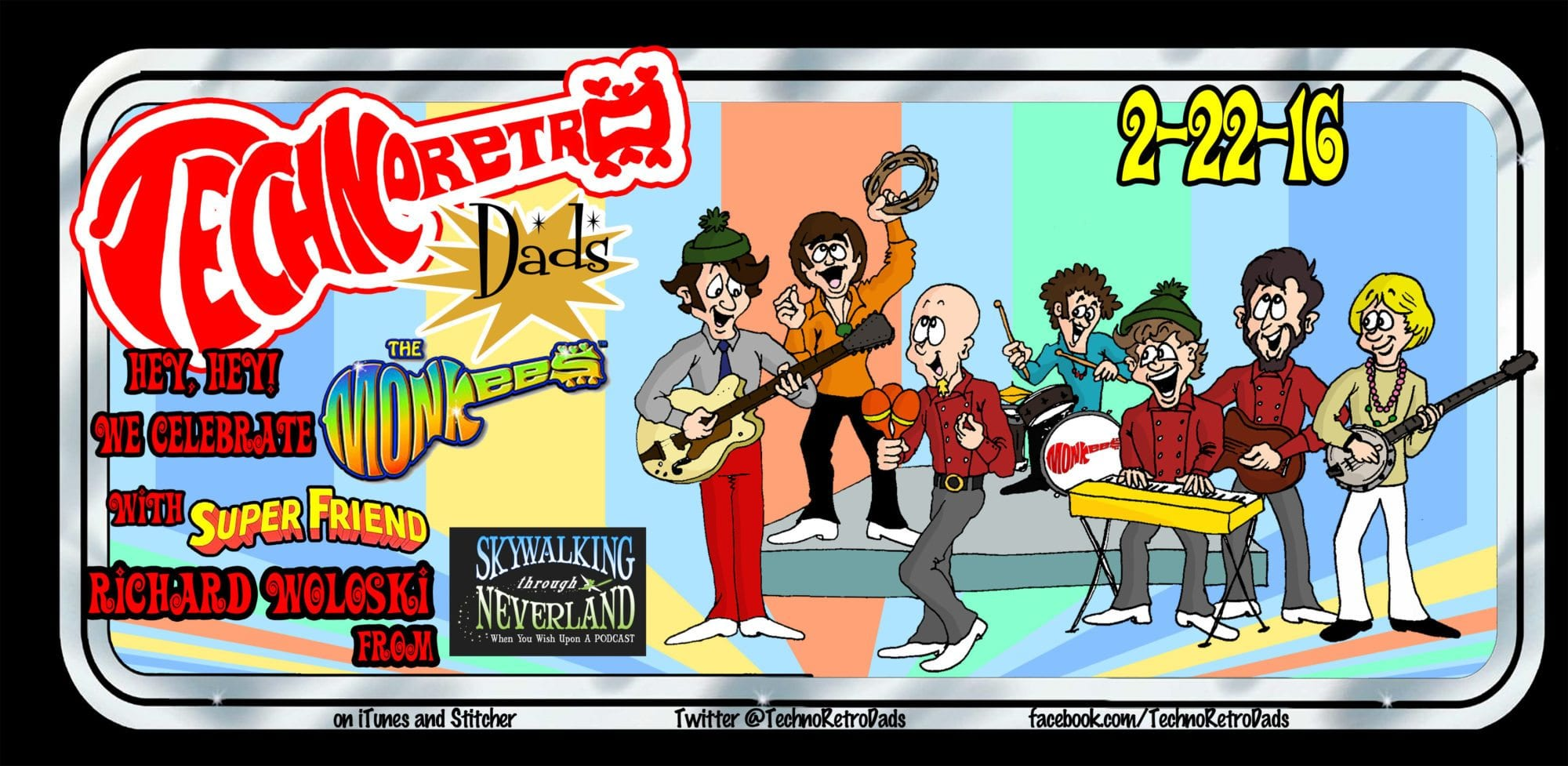 TechnoRetro Dads Celebrate 50 Years of The Monkees with SuperFriend Richard Woloski