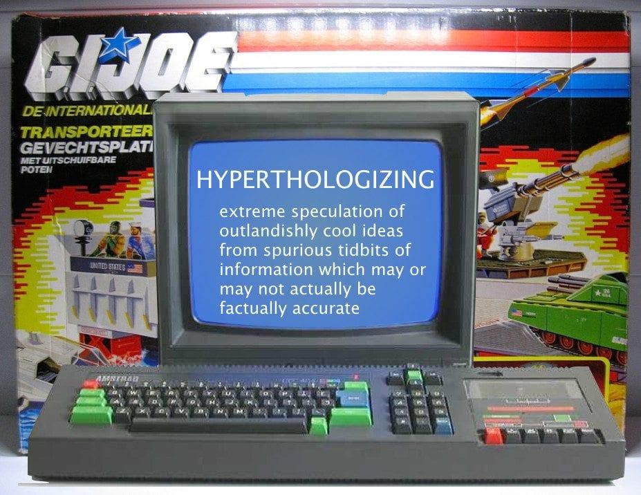 G.I. Joe Day TechnoRetro Lexicon