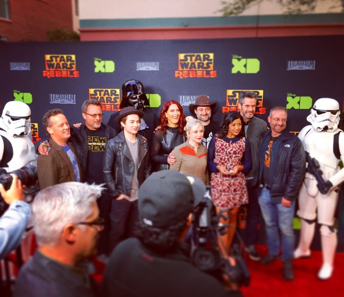 Rebels season two finale, Star Wars Rebels Red Carpet