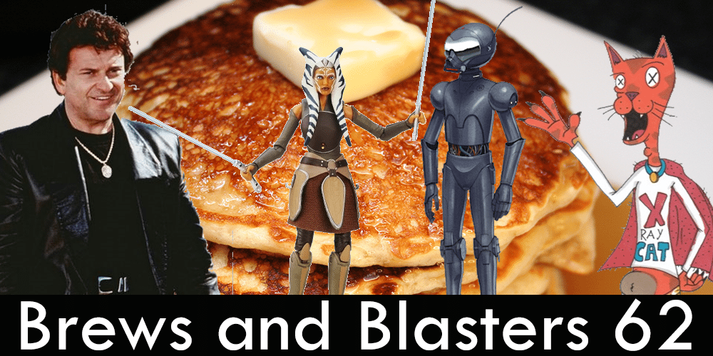 Brews and Blasters, Oppo Rancisis, Joe Pesci, Pancakes, Star Wars