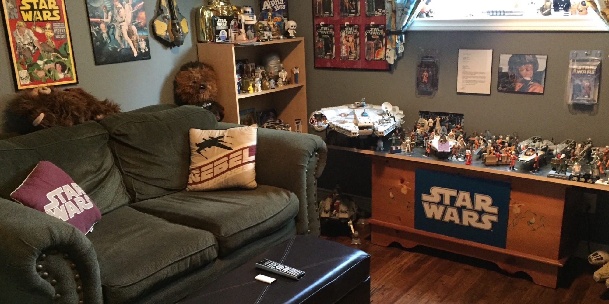 Star Wars Room, Star Wars collecting