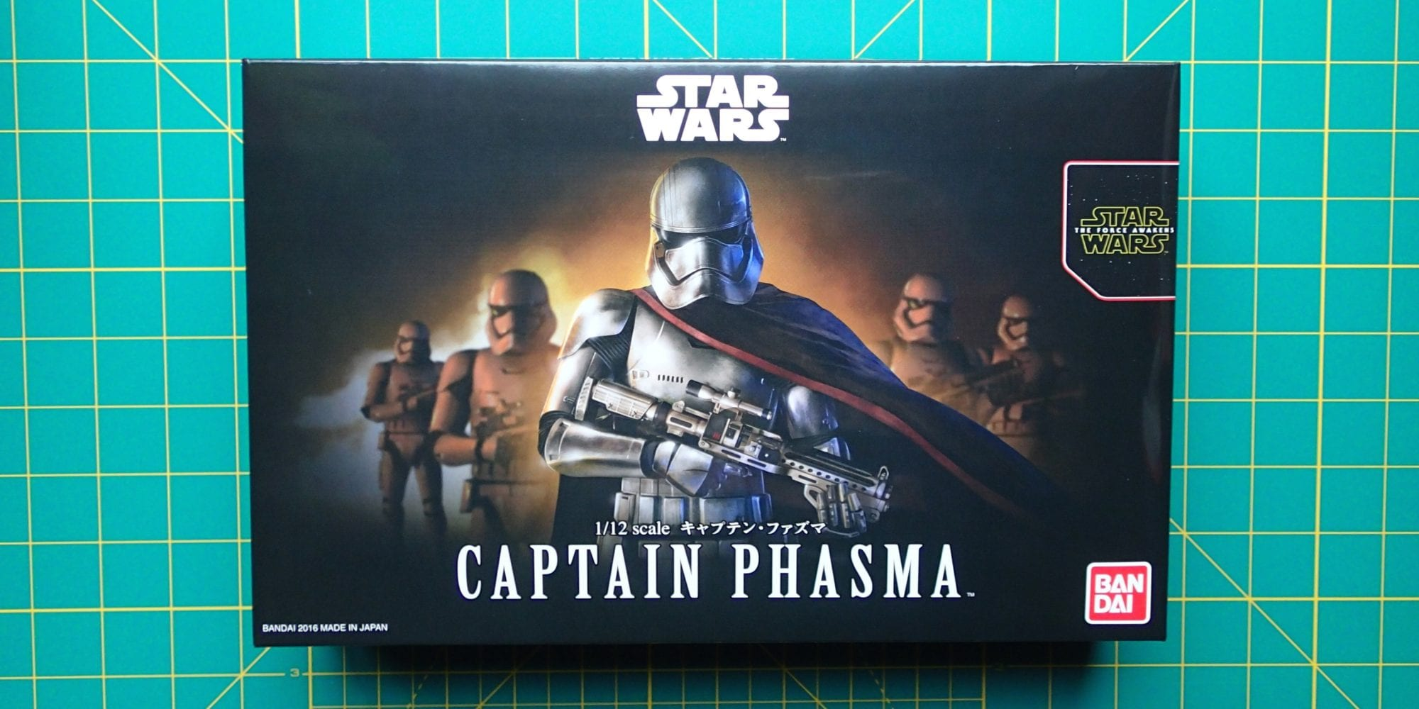 Bandai Captain Phasma 1:12 Plastic Model Kit