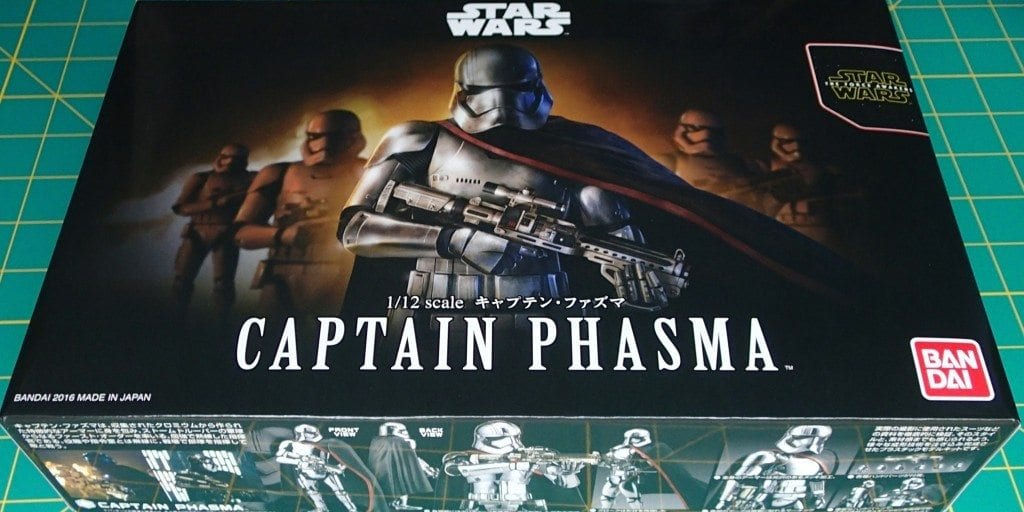 Bandai 1:12 Plastic Model Captain Phasma