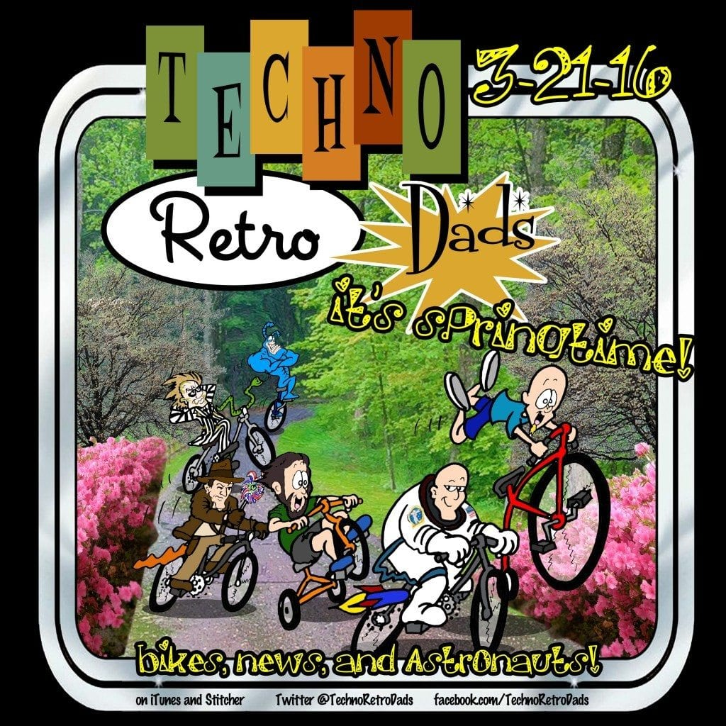 Bicycle Rides in the Spring with Indy, Beetlejuice, and The Tick
