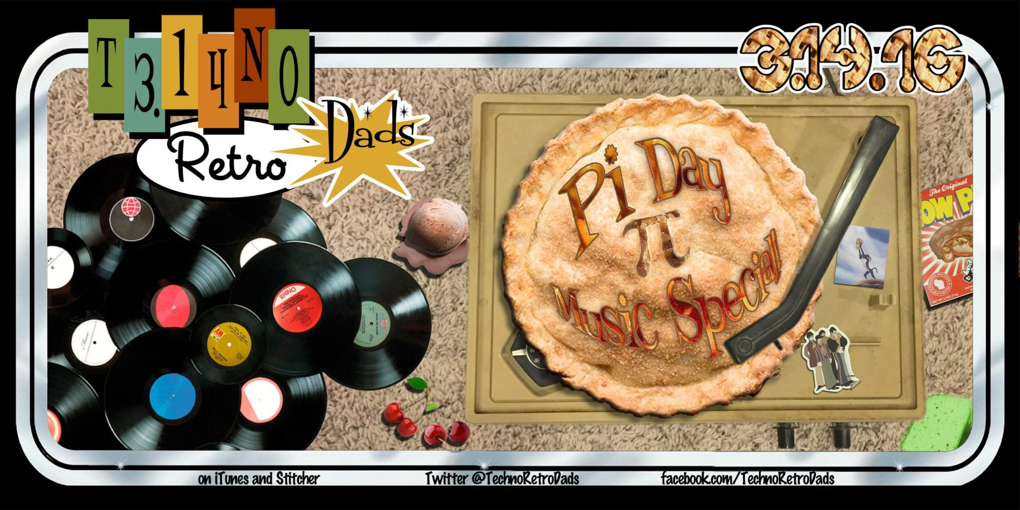 TechnoRetro Dads: Pi Day Music Special