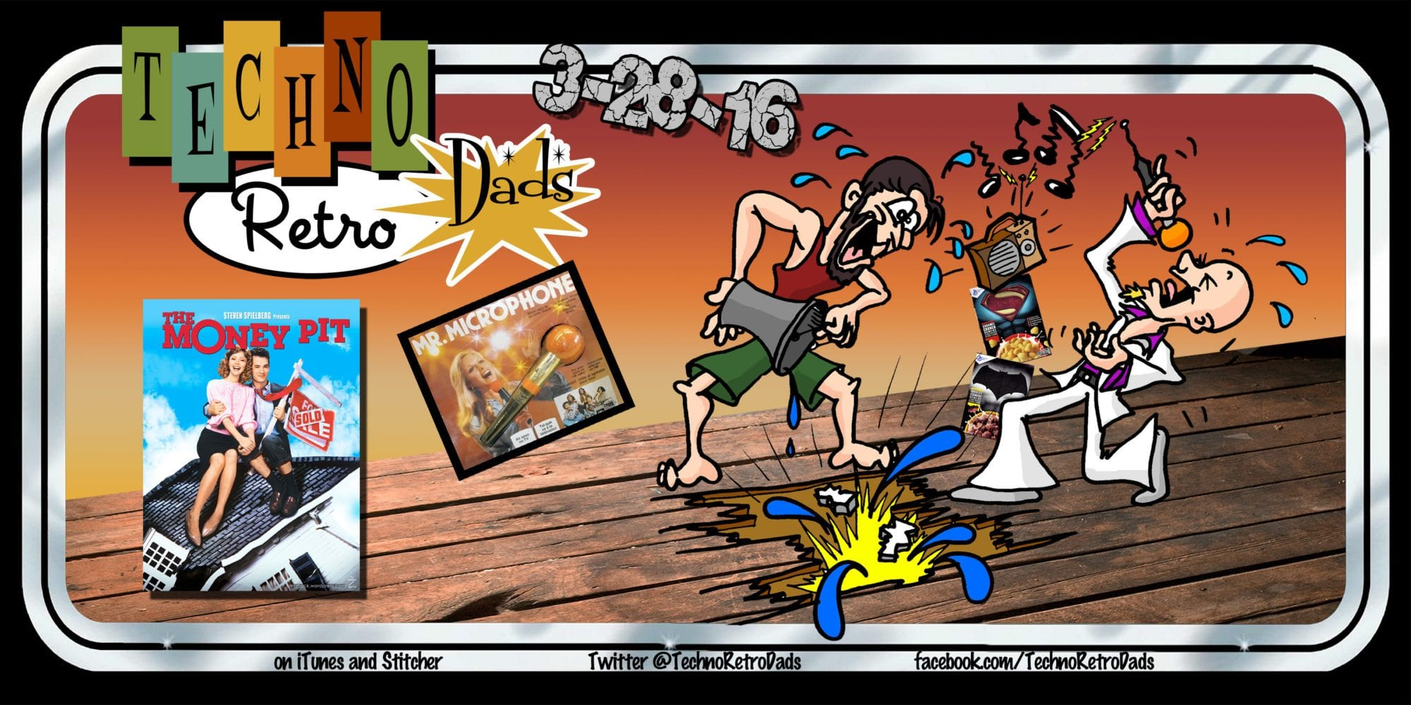 TechnoRetro Dads: Mr Microphone and the Money Pit