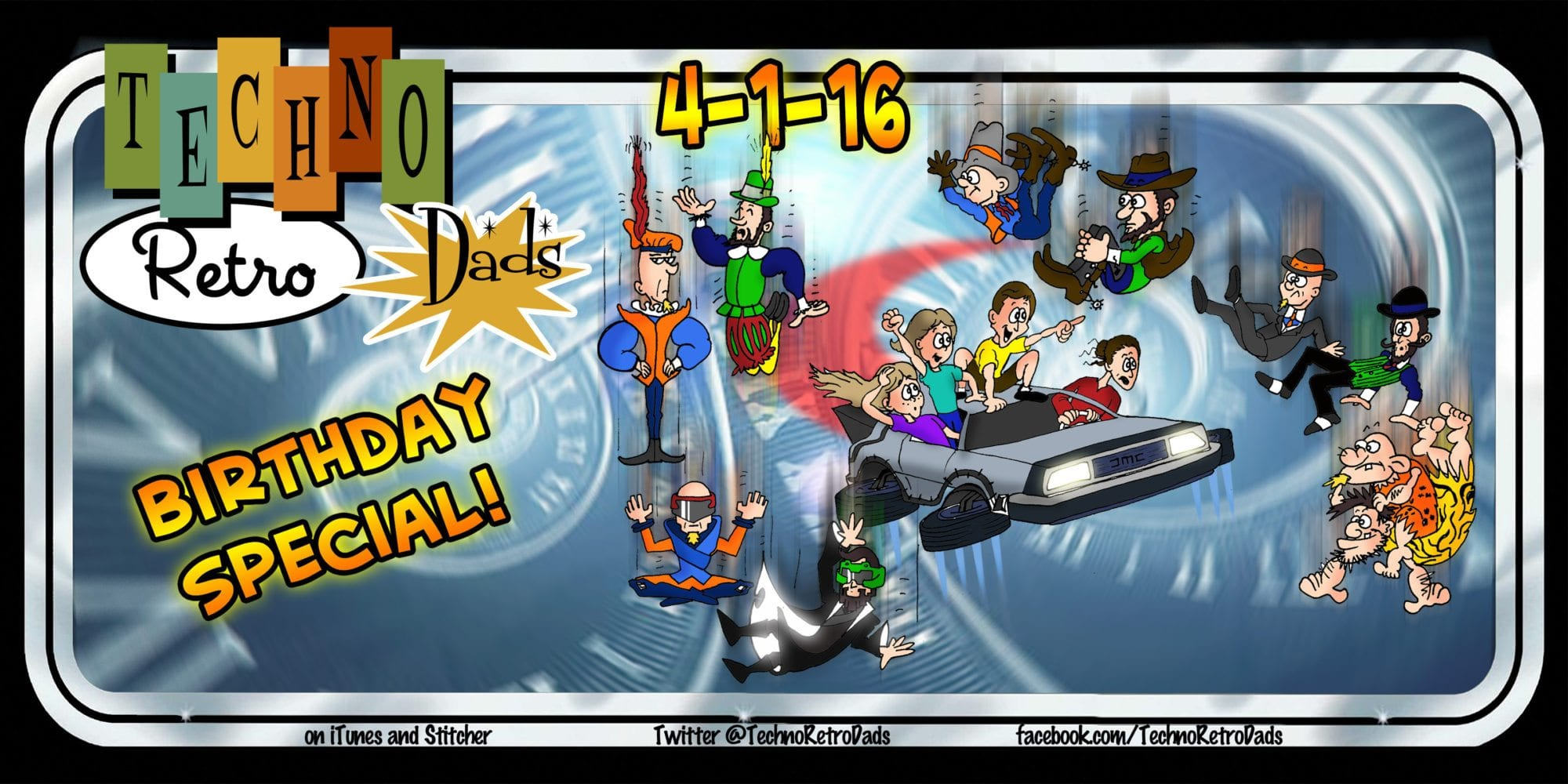 SPECIAL REPORT: TechnoRetro Dads are Missing