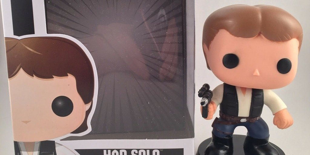 Funko Pop! Star Wars figure Han Solo