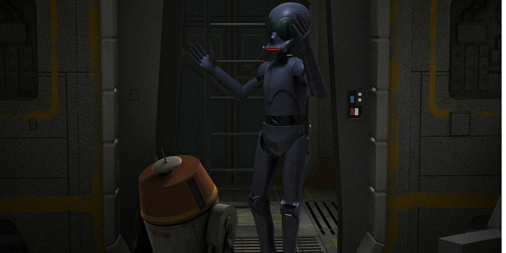 The Forgotten Droid