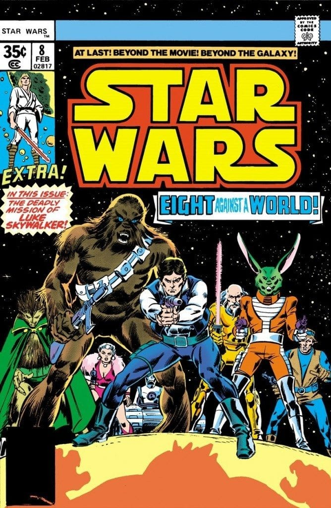 Classic Marvel Star Wars Comics