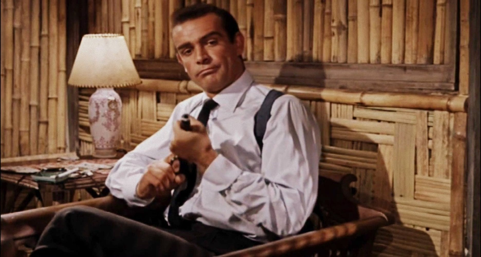 Intermission, you've had your six, James Bond, Dr. No, Sean Connery, 007