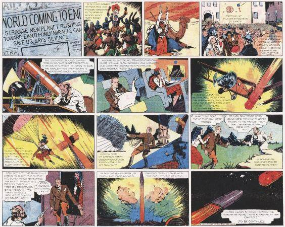Flash Gordon Comic Strip
