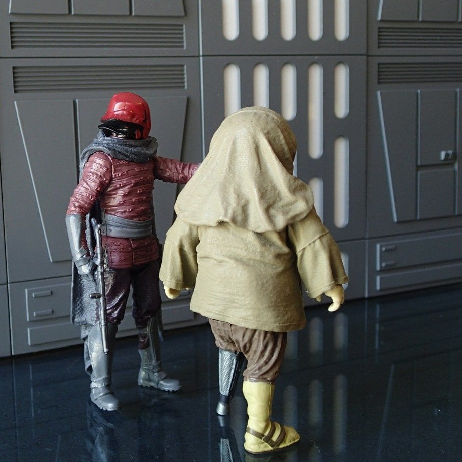 Hasbro Star Wars Captain Ithano and Quiggold
