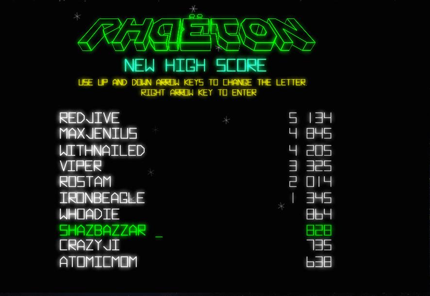 Phaeton High Score shazbazzar first effort