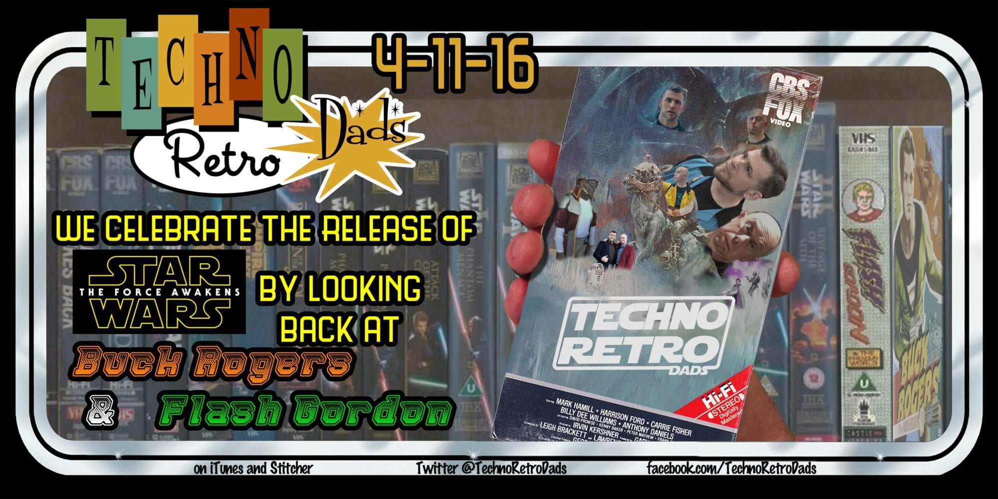 TechnoRetro Dads: The FlashBuck Menace and Home Video Releases