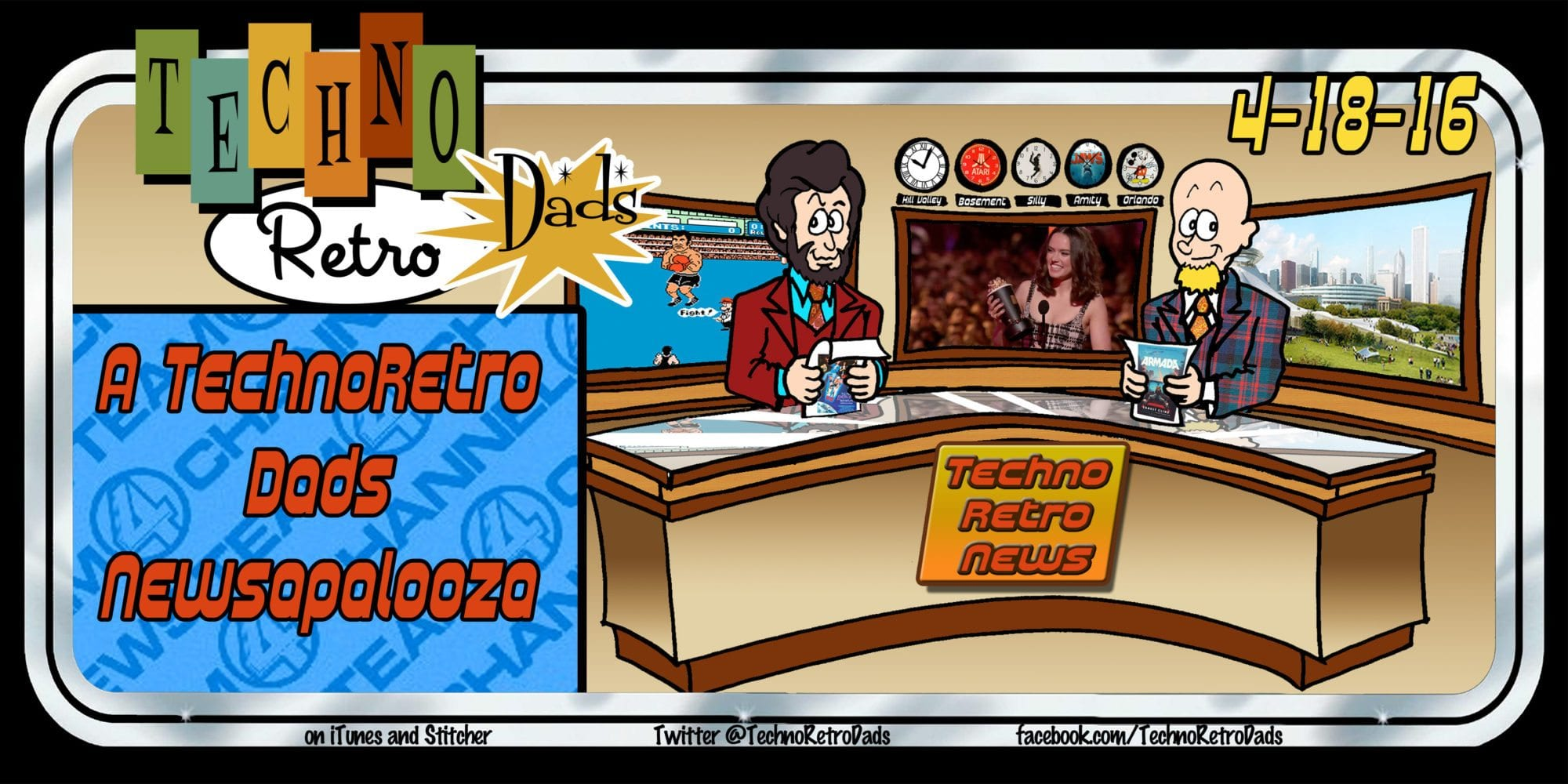 TechnoRetro Dads: Newsapalooza