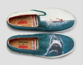 JAWS shoes by Sperry