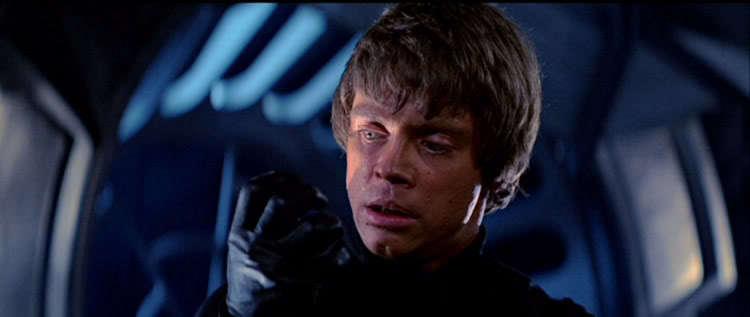 Return of the Jedi Luke Skywalker