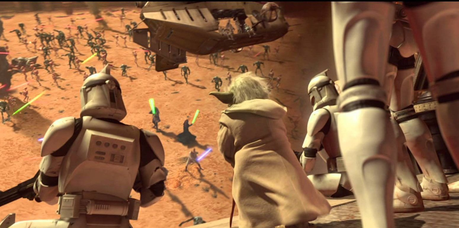 moral ambiguity, power to the prequels, attack of the clones