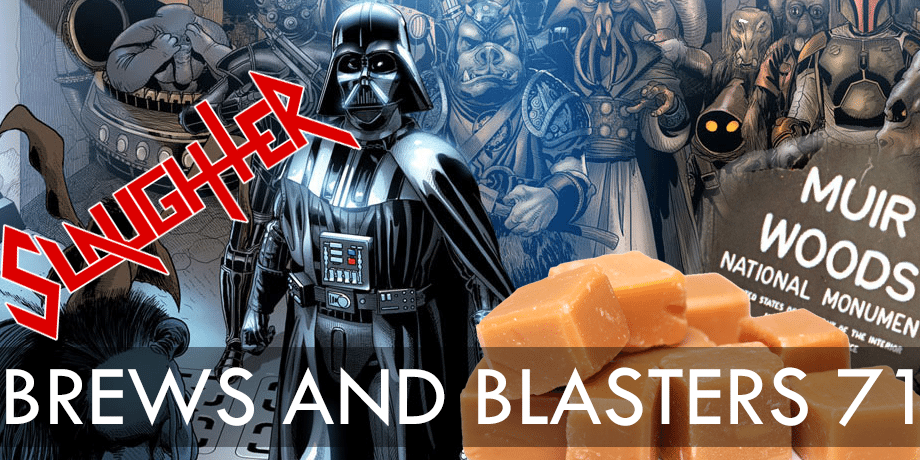 Brews and Blasters 71 Marvel Darth Vader trivia