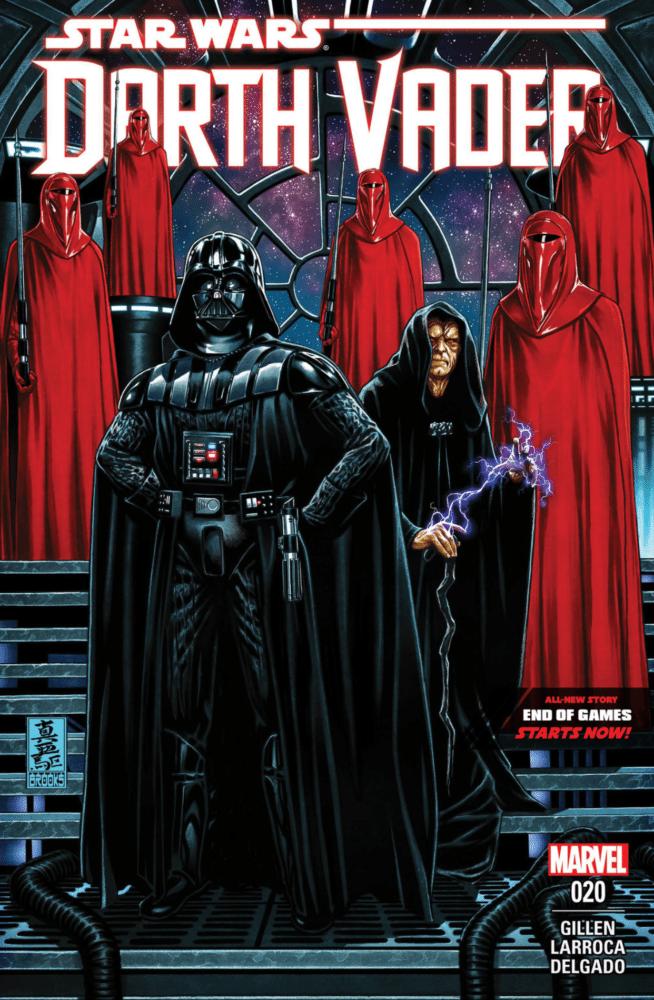 DV20 Cover Darth Vader #20