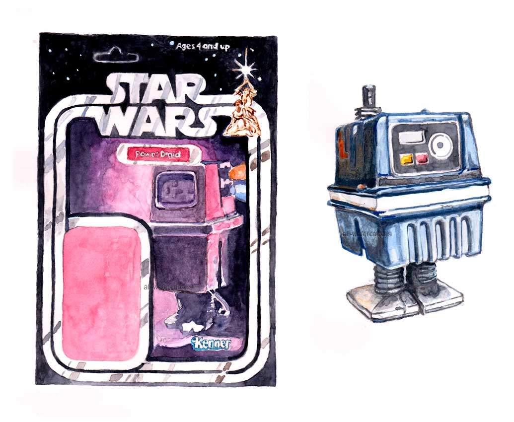 Alastair Eales Gonk droid