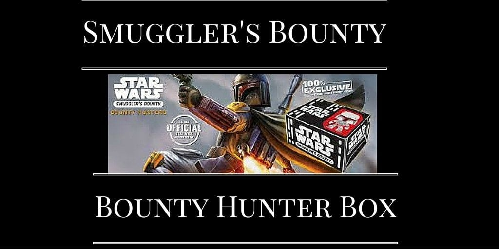 Smuglers Bounty Box Bounty Hunter Box Funko