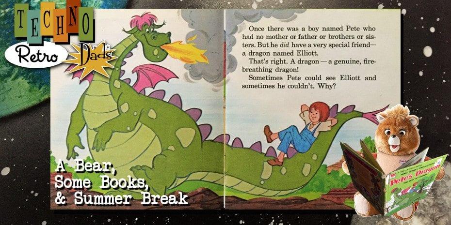 TechnoRetro Dads: A Bear, Some Books, & Summer Break