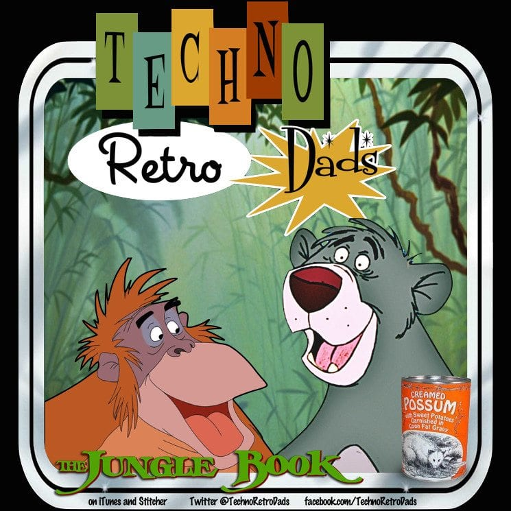 TechnoRetro Dads Jungle Book