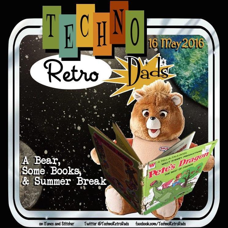TechnoRetro Dads Teddy Ruxpin