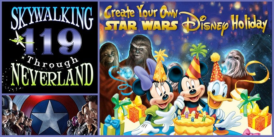 Star Wars disney holidays