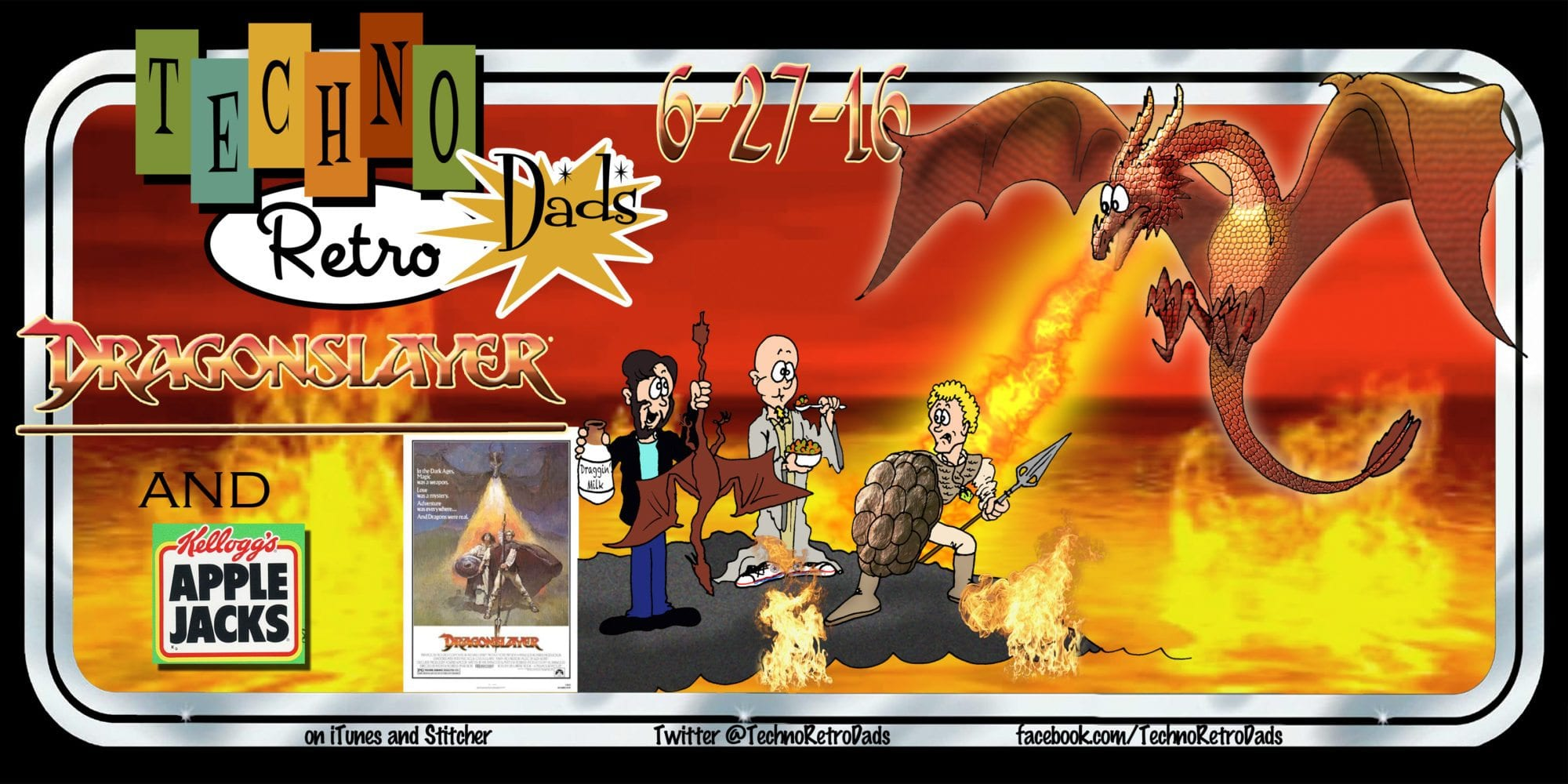 Dragonslayer 1981 TechnoRetro Dads