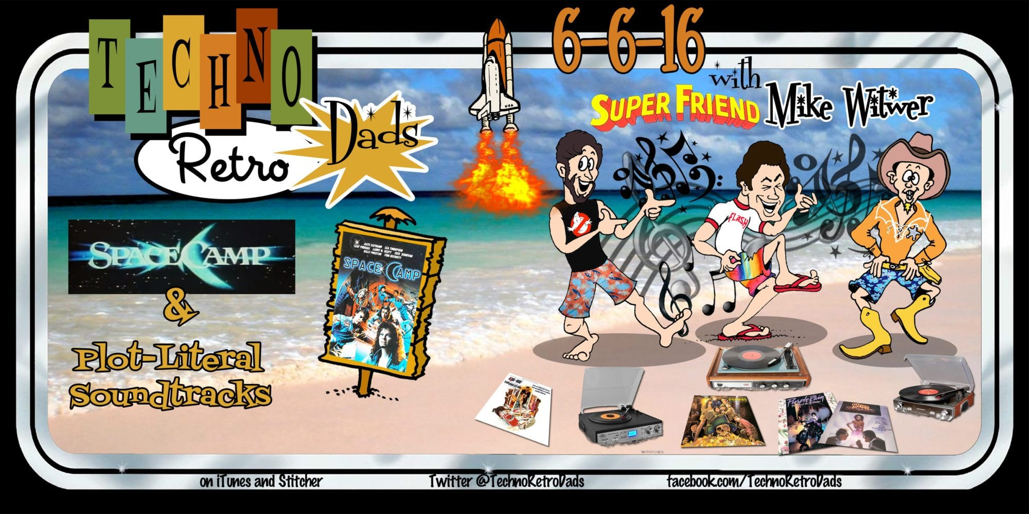 TechnoRetro Dads with Michael Witwer and rockin' movie soundtracks