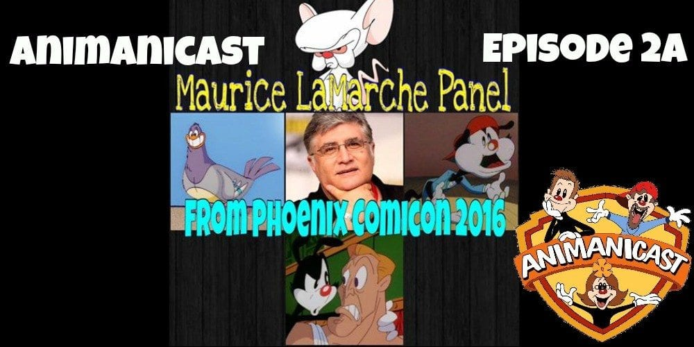 Animanicast #2a: Maurice LaMarche Panel from Phoenix Comicon (The Brain)
